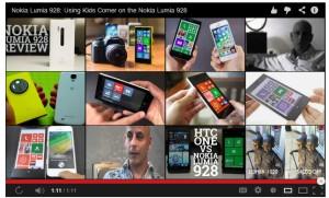 Nokia  Lumia 928 Kid's Corner
