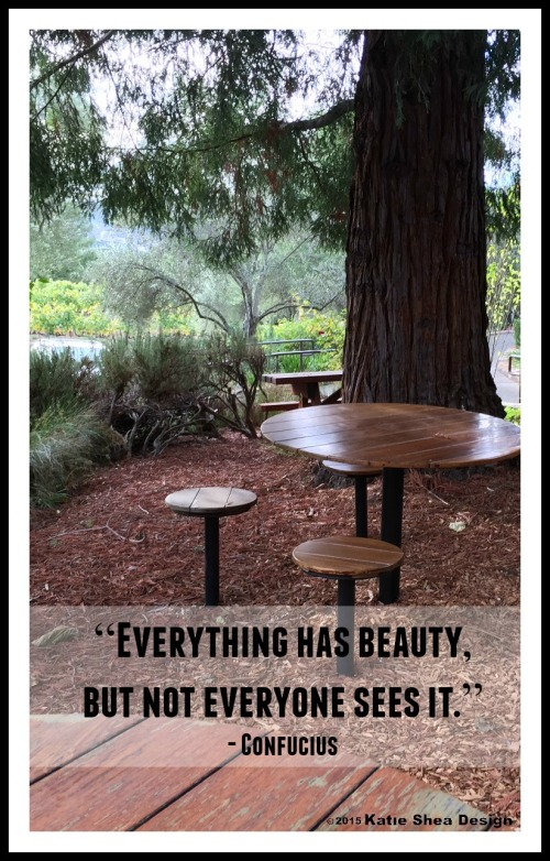 """Everything has beauty, but not everyone sees it."" - Confucius  Image shot by Katie Shea Design VZWBuzz"