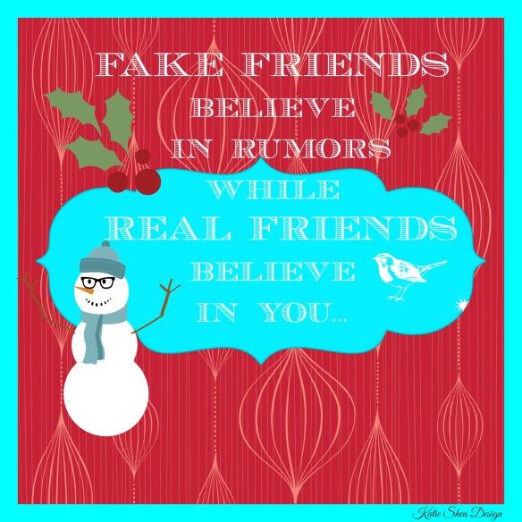 FAKE FRIENDS believe in KSD