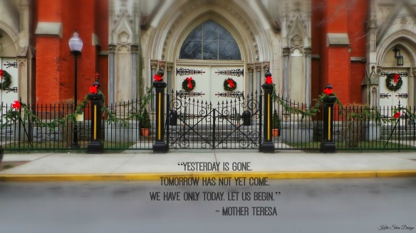 Hoboken Church  Dec 31st 2013 Quote