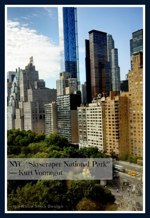 NYC Skyscraper National Park  Kurt Vonnegut  Image by Katie Shea Design VZWBuzz