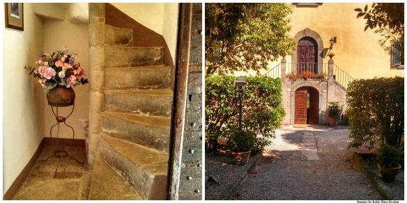 steps door Collage images by ksd
