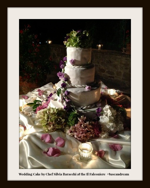 Wedding Cake at the Ilfalconiere Cef Silvia Baracchi