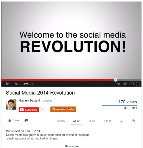 Social Media Revolution Youtube Video