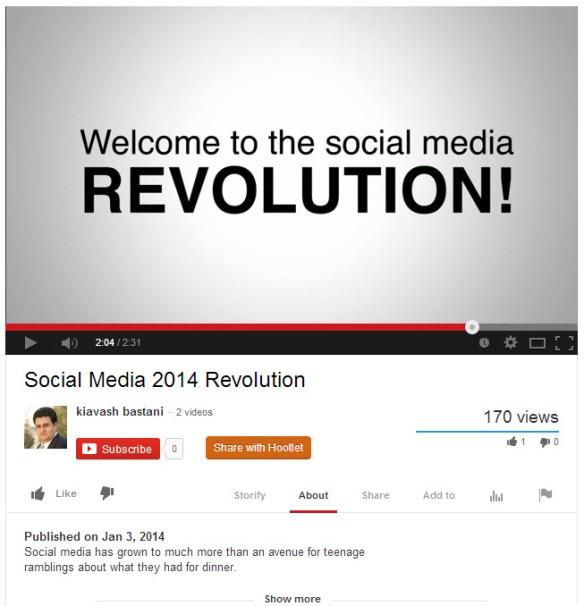 Social Media Revolution Youtube Video