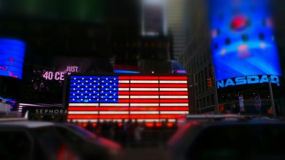 13. America Patriotism SuperBowl Blvd