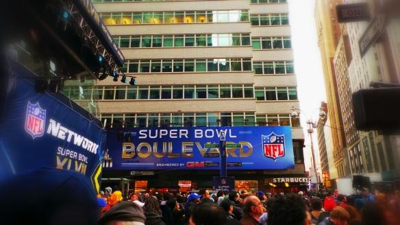 3. Super Bowl Blvd NYC
