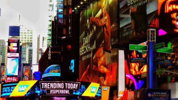 5. Trending on #SuperBowl Blvd. NYC