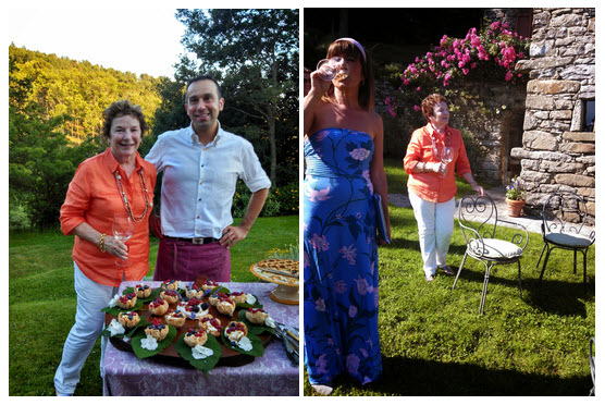 Frances Mayes Chef Ivan and Silvia Baracchi Shot with a Android RAZR HD #VZWBuzz by Katie Shea Design