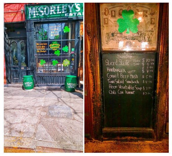McSorleys NYC by KatieSheaDesign