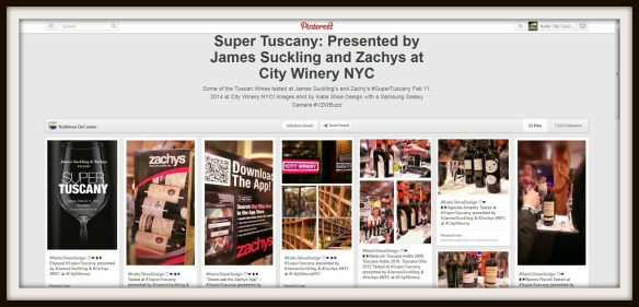 Super Tuscany Presented by James Suckling and Zachys at City Winery Pinterest Board