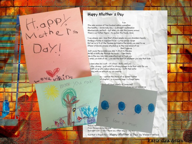 Happy Mother's Day by Visual Poetics CURATED  by  Katie Shea Design