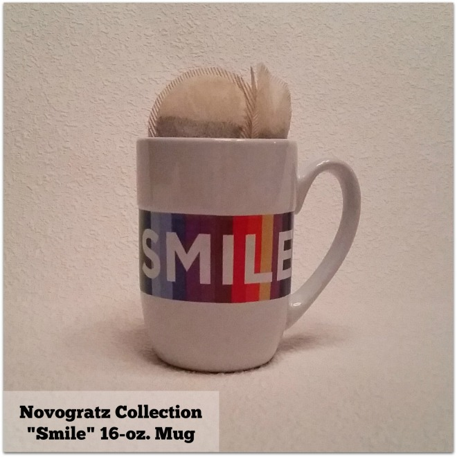 Novogratz Collection Smile 16 0z Mug image by Katie Shea Design c 2014