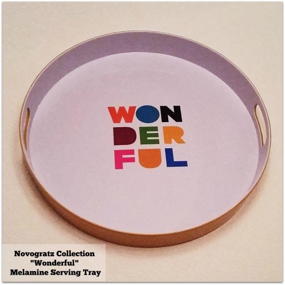 Novogratz Collection Wonderful Melamine Serving Tray image by Katie Shea Design c 2014