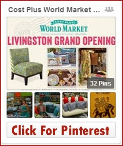 Blog Click For Pinterest  fKatie Shea Design 's World Market Board Livingston