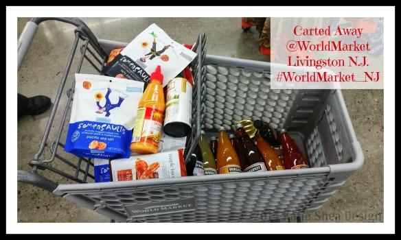 Carried Away @WorldMarket Livingston by KatieSheaDesign #WorldMarket_NJ