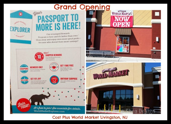 Grand Opening Cost Plus World Market photo credit Katie Shea Design #WorldMarket_NJ