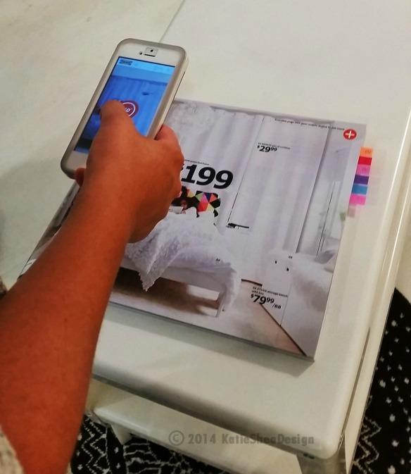 Ikea 2015 Catalog IKEAcatalog  App viewed at Press Event NYC photo Credit Katie Shea Design