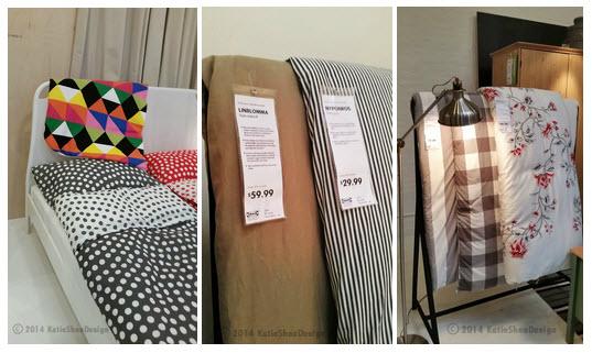 Ikea 2015 Catalog IKEAcatalog Comforters  Duvets fun patterns Photo Credit Katie Shea Design