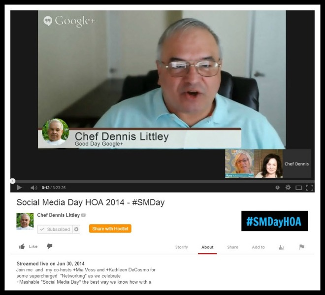SMDayHOA Recap Hosts Dennis Littley Kathleeb DeCosmo Mia Voss