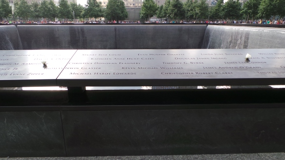 3. Each morning the 911 Memorial is commemorating the birthdays of victims of the attacks of 2001 and 1993.