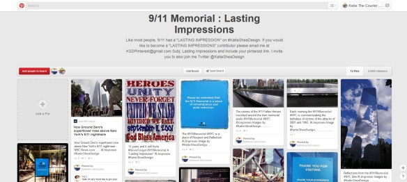 911 memeorial Pinterest Board