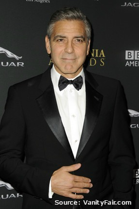 George Clooney Guest Star in a Downton Abbey Christmas Sketch Source   Vanity Fair