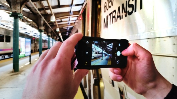 NJ Transit Shot with GalaxyS5 by Katie Shea Design