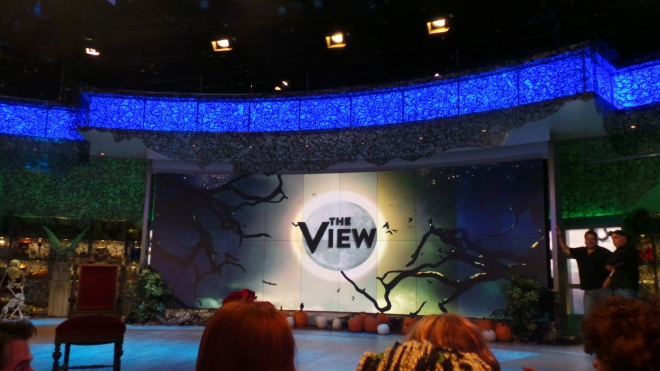 1.  A peek at the View's Halloween Set  shot by KatieSheaDesign  VZWBuzz