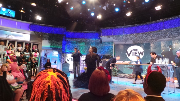 3. The View's Halloween Show and Whoopi Goldberg all costumed up  shot by KatieSheaDesign