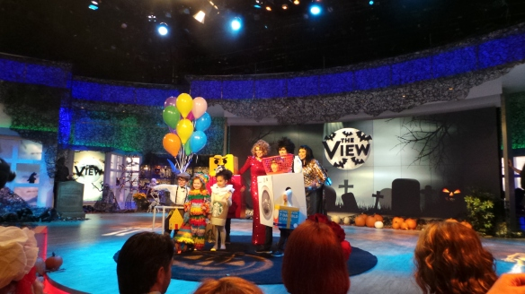 6. DIY Halloween Costumes found on Pinterest The View's Halloween Show shot by KatieSheaDesign  VZWBuzz