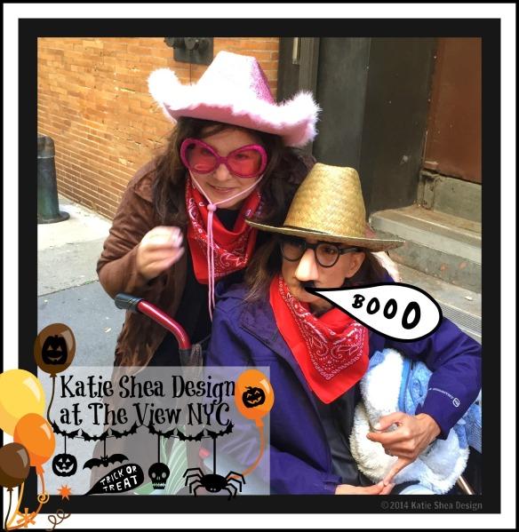 KatieSheaDesign Halloween at The View NYC shot with iPhone6