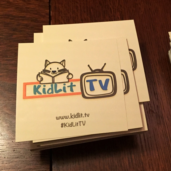 KidLitTV Stickers shot by Katie Shea Design with a iphone6 VZWBuzz