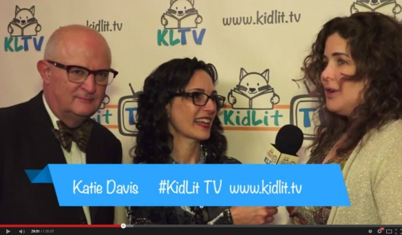 Rocco Staino and Julie Gribble interviewed by Katie Davis Kid Lit TV Live Stream Launch Nov 12 tRiBeCa