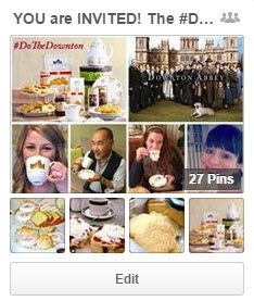 DoTheDownton Pinterest Board by Katie Shea Design with World Market