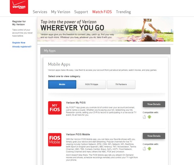 Tap into the power of Verizon FiOS  Katie Shea Design
