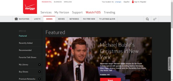 Verizon FiOS sign in to buy TV Shows by KatieSheaDesign