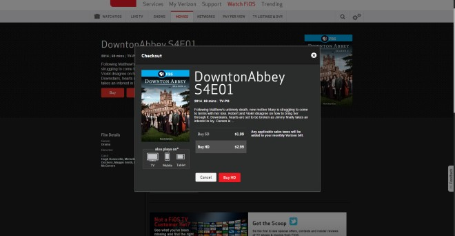 Watch Downton Abbey Season 4 on Demand with Fios Mobile