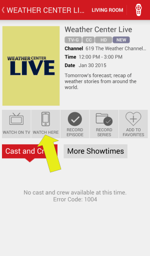 6 Watch Weather Channel from Smartphone