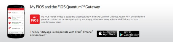 My Fios App