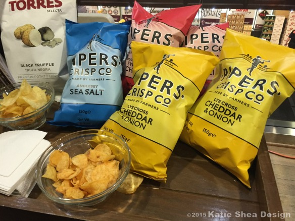 15 Wine Library Big Game Party #WineLibraryEvent #foodbaby image shot by Katie Shea Design C 2015 -Pipers Crisps  ..... Image Shot w iP