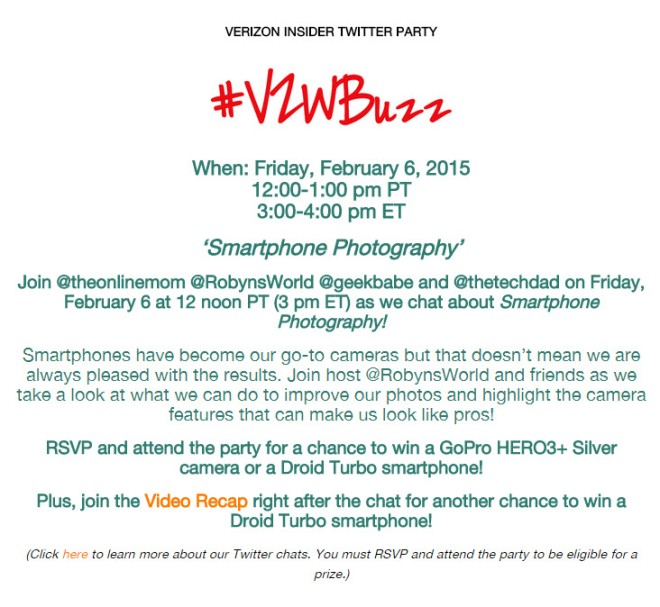 Join The Online Mom Verizon Insider Twitter Party