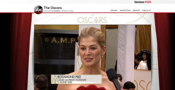 Rosamund Pike Gone Girl