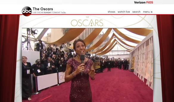 Streaming the Oscars on VerizonFiOS