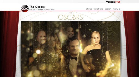 Streaming The Oscars with Verizon FiOS