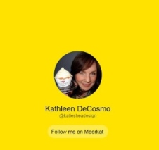 Meerkat Kathleen DeCosmo At KatieSheaDesign VZWBuzz