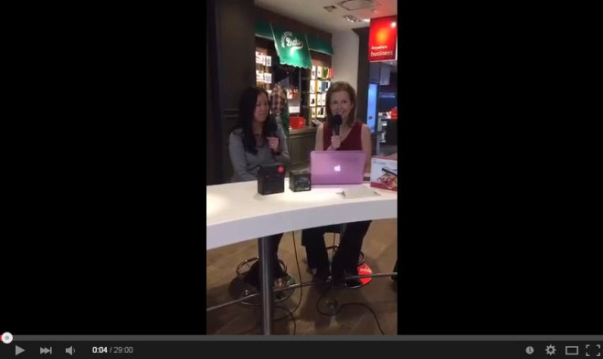 Meerkat Stream of The VZWBuzz weekly Recap from the VErizon Boston Destination Store by Katie Shea Design