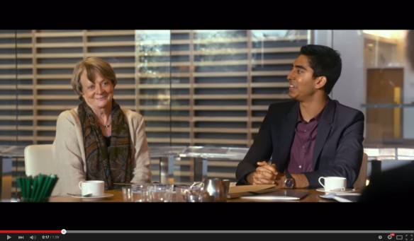 Trailer for The Second Best Exotic Marigold Hotel Movie