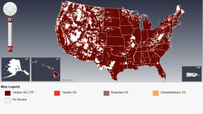 Verizon Coverage USA