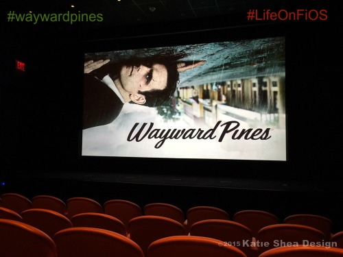 Exclusive Screening of Wayward Pines at the Crosby St. Hotel NYC image shot by Katie Shea Design #LifeOnFiOS